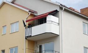 markis till balkong
