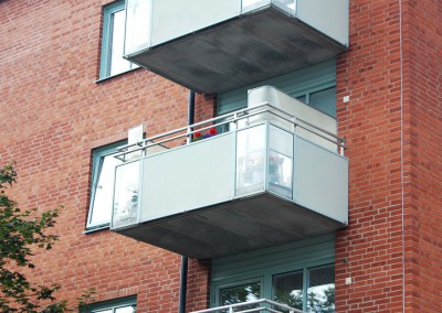 Balkongskydd glasfiber