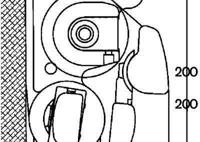 Terrassmarkis Art 250